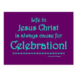 celebration postcard