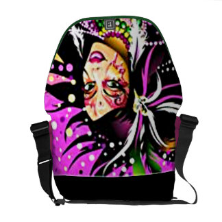 Celebration Rickshaw Messenger Bag