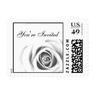 Celebration Rose Postage Stamps