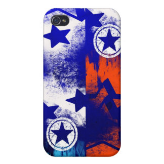 Celebration Star pattern Cases For iPhone 4