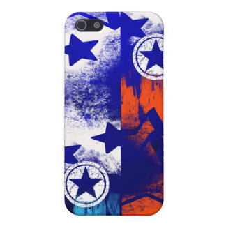 Celebration Star pattern Cases For iPhone 5