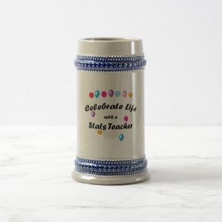 Celebration Stats Teacher Coffee Mugs