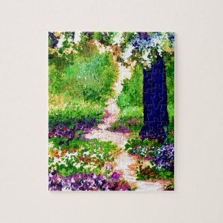 Celebration Sunny Flower Garden CricketDiane Jigsaw Puzzle