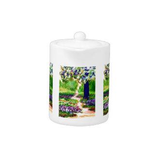 Celebration Sunny Flower Garden CricketDiane Teapot