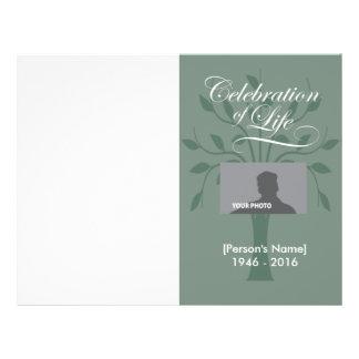 Celebration Of Life Flyers & Programs | Zazzle