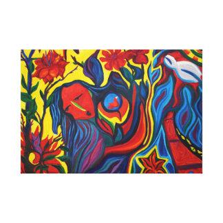 Celebration WRAPPED CANVAS Canvas Print