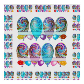 Celebrations -  Balloons Poster