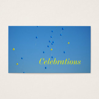 Celebrations Business Card