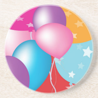 Celebrations Celeberations Baloons Drink Coaster