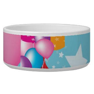 Celebrations Celeberations Baloons Dog Food Bowl