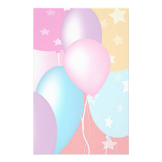 Celebrations - Happy Birthday: Special Soft Colors Stationery
