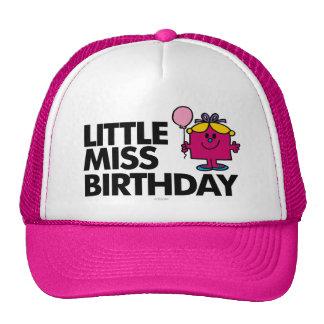 Celebre a pequeña Srta. Birthday Gorro