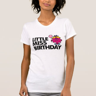 Celebre a pequeña Srta. Birthday Camiseta