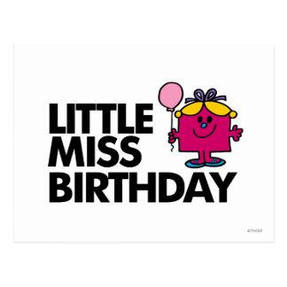 Celebre a pequeña Srta. Birthday Postales