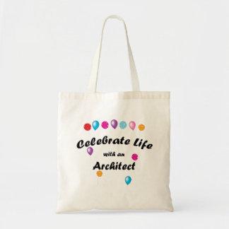 Celebre al arquitecto bolsa de mano