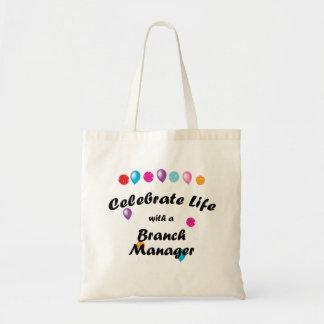 Celebre al director de sucursal bolsas de mano