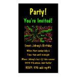 Celebre al fiesta invitan a tarjetas plantillas de tarjeta de negocio