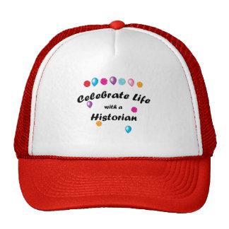 Celebre al historiador gorras de camionero