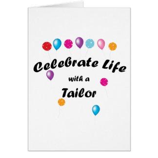 Celebre al sastre felicitacion