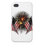 Celebre América iPhone 4 Carcasa