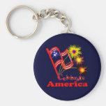 Celebre América Llaveros Personalizados