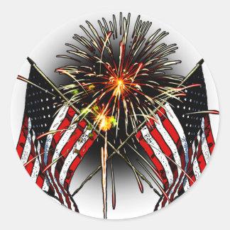 Celebre América Pegatina Redonda