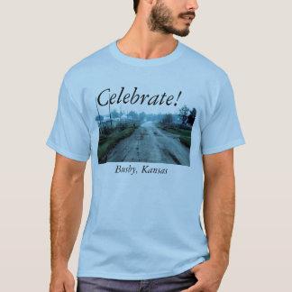 ¡Celebre! Birretina, Kansas Playera