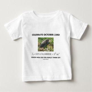 ¿Celebre el 23 de octubre en el cual el topo T Shirts