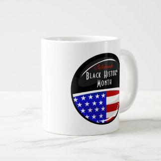 Celebre el acontecimiento negro del mes de la taza grande