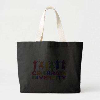 Celebre el bolso de la diversidad bolsa