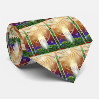 Celebre el calor del Yule Sun Corbata Personalizada