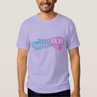 Celebre el cambio a sí mismo las camisetas polera