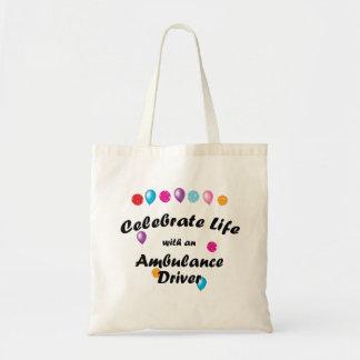 Celebre el conductor de la ambulancia bolsa de mano