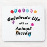 Celebre el criador animal tapetes de raton