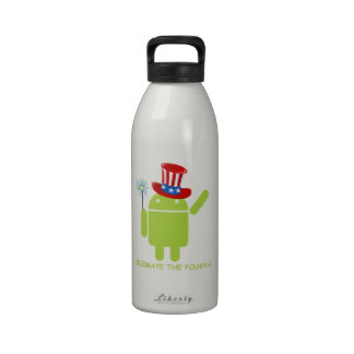Celebre el cuarto (insecto androide Droid) Botallas De Agua