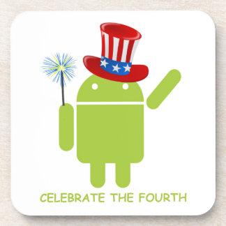Celebre el cuarto insecto androide Droid Posavaso
