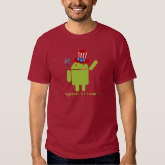 Celebre el cuarto (insecto androide Droid) Remera