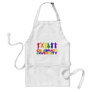 Celebre el delantal de la diversidad