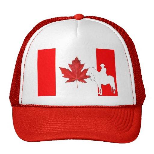 Celebre el día de Canadá Gorros Bordados