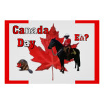 Celebre el día de Canadá Impresiones