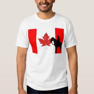 Celebre el día de Canadá Poleras