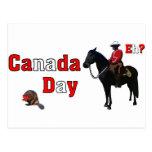 Celebre el día de Canadá Postal
