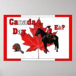 Celebre el día de Canadá Posters