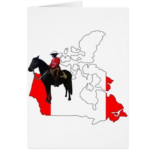 Celebre el día de Canadá Tarjeta De Felicitación