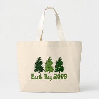 Celebre el Día de la Tierra 2009 Bolsa Tela Grande