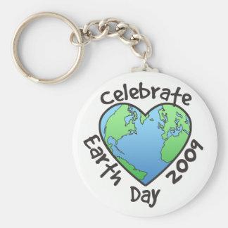 Celebre el Día de la Tierra 2009 Llavero Personalizado