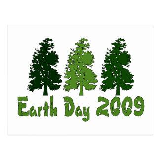 Celebre el Día de la Tierra 2009 Postales