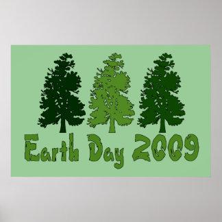 Celebre el Día de la Tierra 2009 Póster