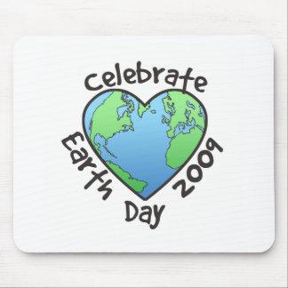 Celebre el Día de la Tierra 2009 Tapetes De Ratón