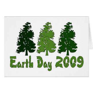 Celebre el Día de la Tierra 2009 Tarjeta De Felicitación